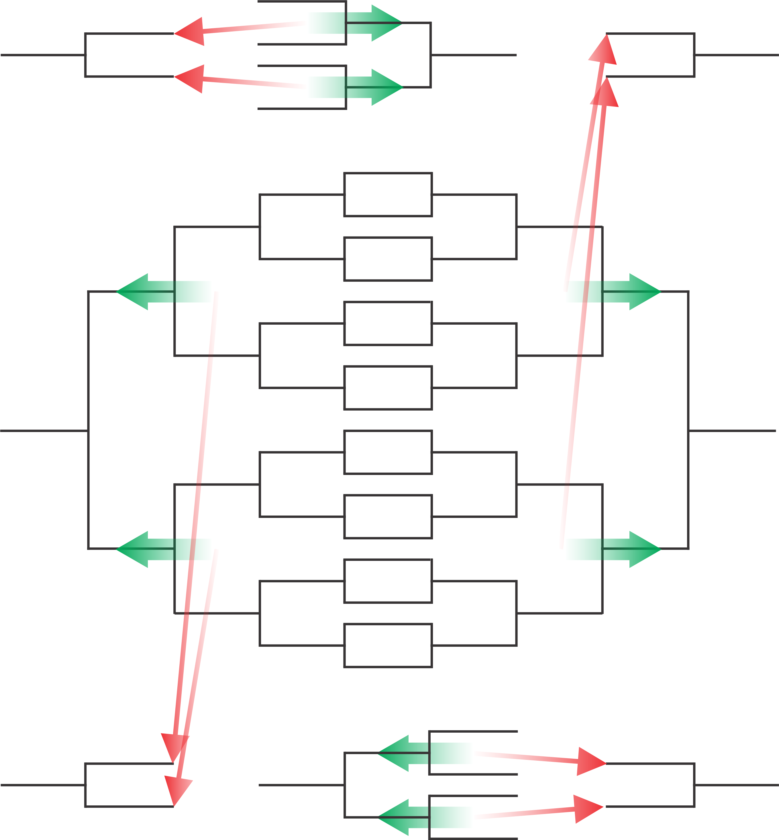 Compass Draw Tennis diagram for round 3